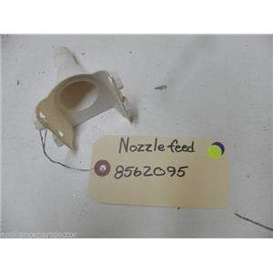 MAYTAG DISHWASHER 8562095 NOZZLE FEED USED PART ASSEMBLY