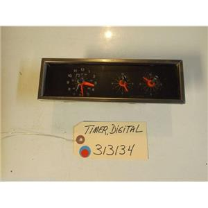 Whirlpool STOVE 313134  Timer, Digital marks from use and age USED