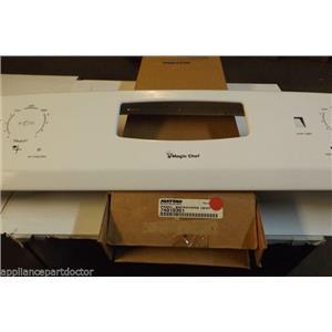 WHIRLPOOL MAGIC CHEF STOVE 74010351 PANEL- BAC (WHT)  NEW IN BOX