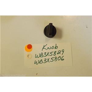 GE STOVE WB3X5829  WB3X5806   Knob  used