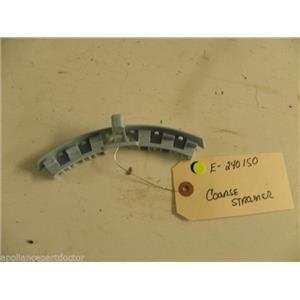 WHIRLPOOL HOBART KITCHEN AID DISHWASHER E-240150 E240150 COARSE STRAINER USED