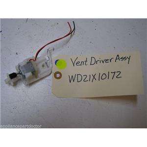GE DISHWASHER WD21X10172 VENT DRIVER USED PART ASSEMBLY