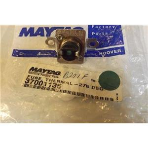 Maytag Crosley dryer 37001135 Fuse, Thermal-275 Degrees F  NEW IN BOX