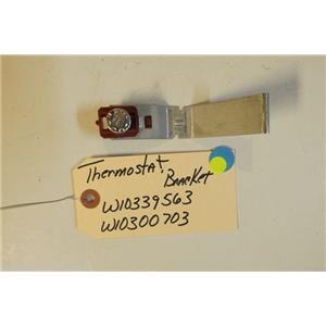 KENMORE DISHWASHER  W10339563  W10300703  Thermostat, bracket  USED