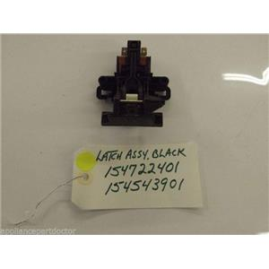 Frigidaire  Dishwasher  154722401 154543901 Latch ,black used