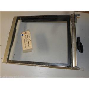 AMANA REFRIGERATOR 10036019 D7853302 MEAT KEEPER SHELF, GLASS W/SLIDES, FRAME MK