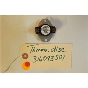 Kenmore STOVE 316093501  Thermo disc  used part