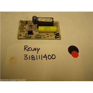 FRIGIDAIRE STOVE 318111400 Relay Circuit USED PART ASSEMBLY