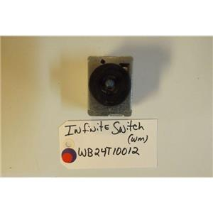 GE STOVE WB24T10012   Inf Switch Cntl (wm) USED PART
