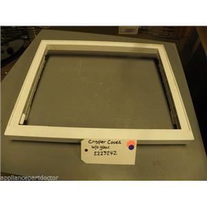 REFRIGERATOR 2223242 Crisper cover w/o glass