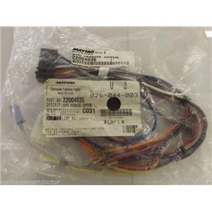 Maytag Washer  22004035  Wire Harness (upper)   NEW IN BOX