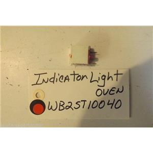 GE STOVE WB25T10040  Indicator Light-oven USED PART