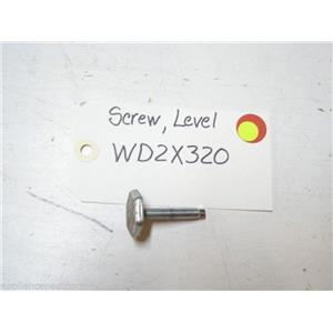 GE DISHWASHER WD2X320 LEVEL SCREW USED PART ASSEMBLY