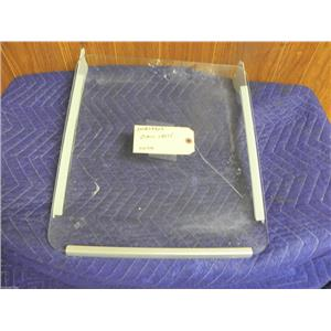 ELECTROLUX REFRIGERATOR 241839902 FORMED GLASS SHELF USED PART ASSEMBLY