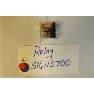 FRIGIDAIRE STOVE 316113700 Relay  used part