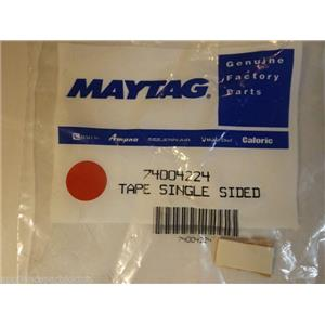 Maytag Whirlpool Stove  74004224  Tape, Single Sided (wht) NEW IN BOX