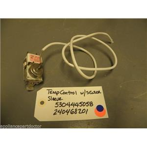 FRIGIDAIRE REFRIGERATOR 5304445058 240468201 Temp control w/ sensor sleeve used