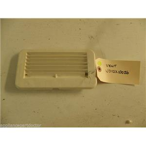 GE DISHWASHER WD12X10026 VENT USED PART ASSEMBLY
