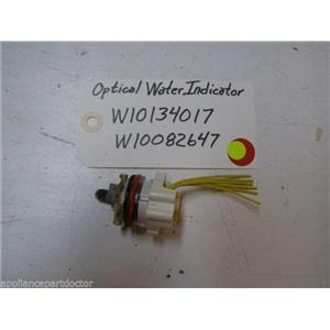 WHIRLPOOL DISHWASHER W10134017 W10082647 OPTICAL WATER INDICATOR USED ASSEMBLY
