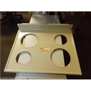 Hotpoint  STOVE   WB62M18  Main Top Almond  USED PART