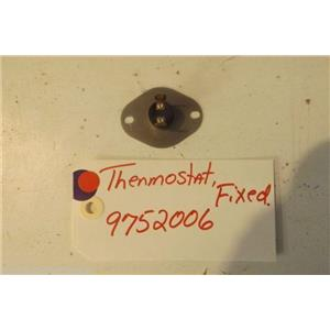 KITCHENAID STOVE 9752006 Thermostat, Fixed USED PART