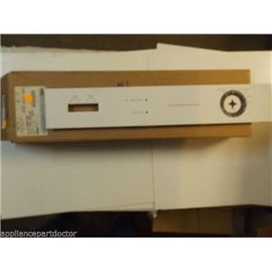 MAYTAG DISHWASHER 99001745 Overlay, Control Panel (wht)   NEW IN BOX
