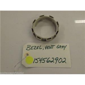 Frigidaire  Dishwasher   154562902 Bezel,vent ,gray  used