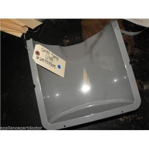 FRIGIDAIRE REFRIGERATOR 241753304 GRAY SUMP LINER USED PART ASSEMBLY