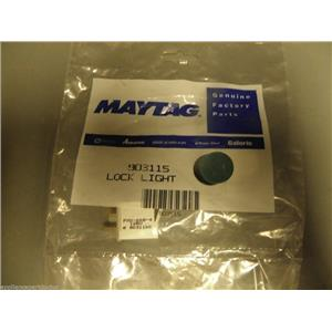 Jenn Air Maytag Washer Dryer 903115 Lock Light w/o lens   NEW IN BOX