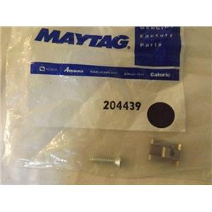 MAYTAG JENN AIR WASHER/DRYER 204439 Screw & Fstner Assy(frt.panel)    NEW IN BAG