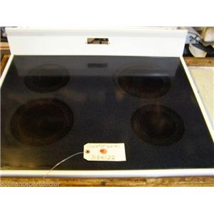 ROPER STOVE 3184122  Cooktop (white) SMALL MARKS   used