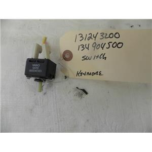 SEARS KENMORE FRONT LOAD WASHER 131243200 134904500 SWITCH