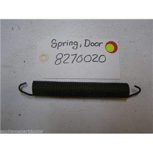 KENMORE DISHWASHER 8270020 DOOR SPRING USED PART ASSEMBLY