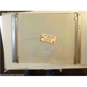 KENMORE STOVE 316502601 316530401  Oven door glass  W/BRACKETS   USED