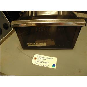 REFRIGERATOR WR32X985 VEGETABLE PAN (moist n fresh) (smoke)   USED PART