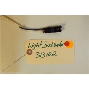 WHIRLPOOL STOVE 313102 Light, Ind.  used