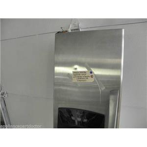 MAYTAG AMANA 12818402SQ 67004207 FREEZER DOOR W/ WATER DISPENSER & HANDLE