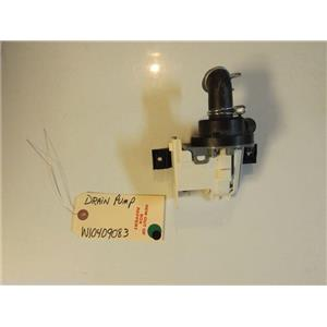WASHER W10409083  Drain Pump  NEW W/O BOX