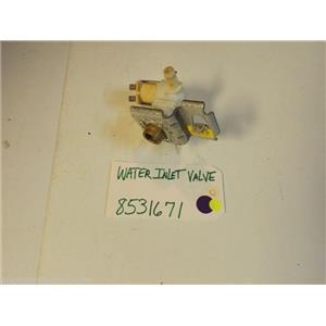 Kenmore DISHWASHER 8531671 Water Inlet Valve  used