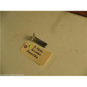 FRIDGIDAIRE DISHWASHER 8000586 BI METAL ACTUATOR USED PART ASSEMBLY