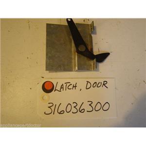 FRIGIDAIRE STOVE  316036300  Latch-door USED PART