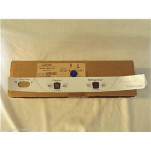AMANA REFRIGERATOR 67004695 Overlay  NEW IN BOX