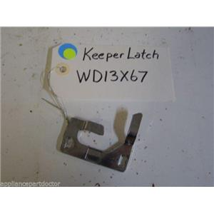 GE DISHWASHER WD13X67 Keeper Latch  USED PART