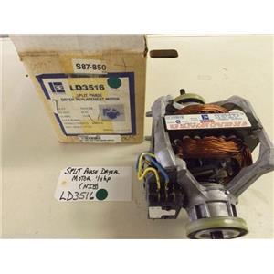 Emerson Dryer  LD3516  Split Phase Dryer Motor 1/4hp   NEW IN BOX