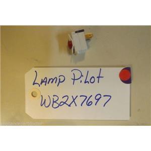 GE STOVE WB2X7697 Lamp  Pilot  USED PART