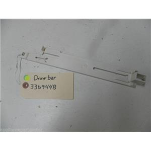KENMORE DISHWASHER 3369448 DRAW BAR USED PART ASSEMBLY