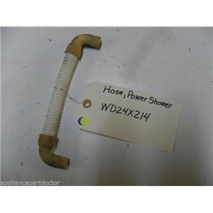 GE DISHWASHER WD24X214 POWER SHOWER HOSE USED PART ASSEMBLY