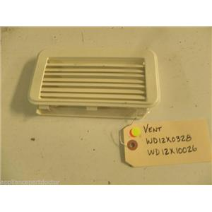 KENMORE DISHWASHER WD12X0328 WD12X10026 VENT USED PART ASSEMBLY