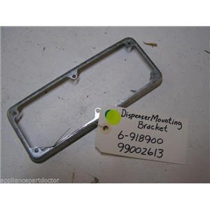 MAYTAG DISHWASHER 6-918900 99002613 DISPENSER MOUNTING BRACKET USED ASSEMBLY