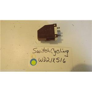 GE DISHWASHER WD21X516   Switch Cycling used part